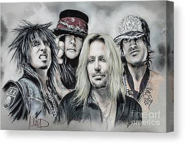 Tommy Lee Canvas Prints