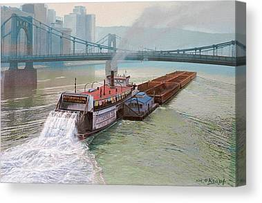 Allegheny River Canvas Prints