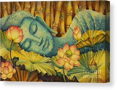 Gautama Canvas Prints