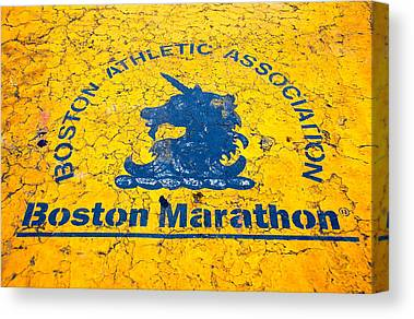 Boston Marathon Canvas Prints