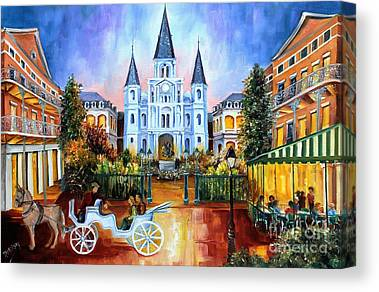 St.louis Cathedral Canvas Prints