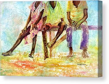 Ghana Canvas Prints