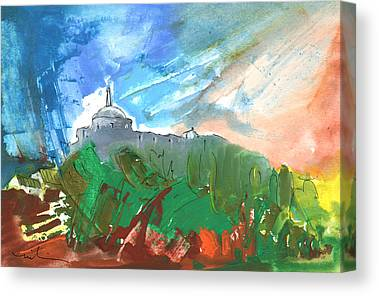 Cathar Country Canvas Prints