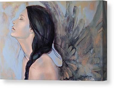 Angel Art Canvas Prints