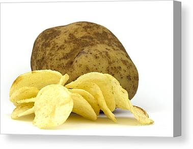 Potatoes Canvas Prints