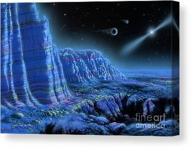 Pulsar Canvas Prints