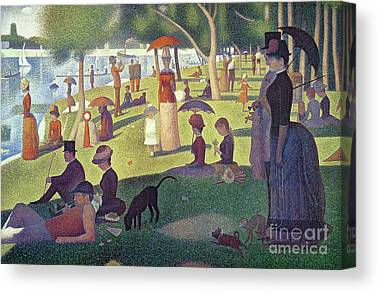 Seurat Paintings Canvas Prints