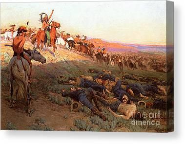 Crazy Horse Canvas Prints