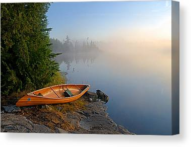 Boundary Waters Photographs Canvas Prints
