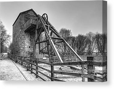 Engine House Canvas Prints