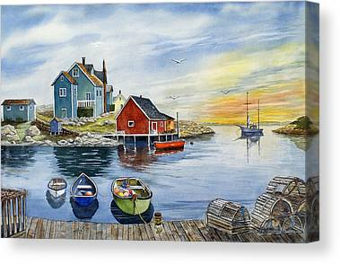Nova Scotia Canvas Prints