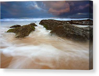 Knights Beach Canvas Prints