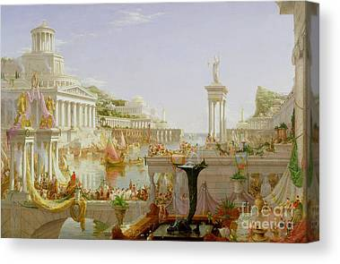 The Forum Canvas Prints