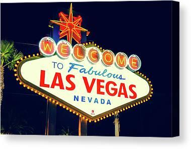 Las Vegas Canvas Prints