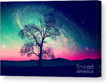 Far Away Canvas Prints