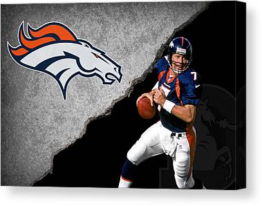 John Elway Canvas Prints
