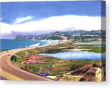 Coastal Highway Canvas Prints