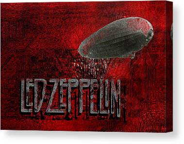 Rock And Roll Heaven Canvas Prints