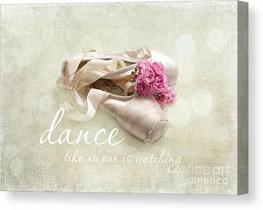 Dance Ballet Roses Photographs Canvas Prints