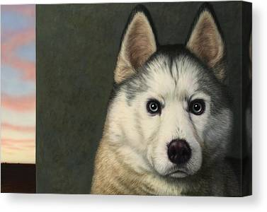 Huskies Canvas Prints