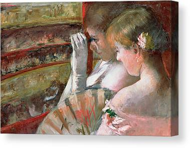 Opera Gloves Paintings Canvas Prints