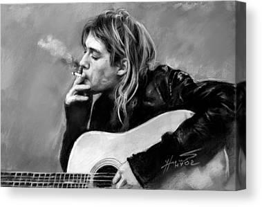 Guitare Canvas Prints