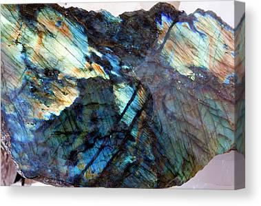 Mineralogy Canvas Prints