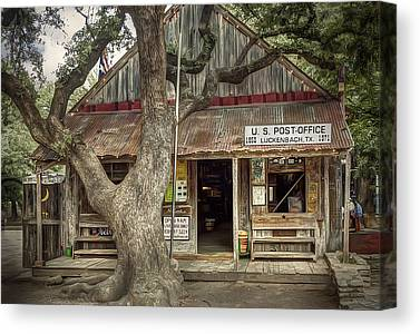 Tin Roof Canvas Prints