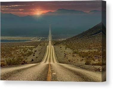 Mojave Desert Canvas Prints