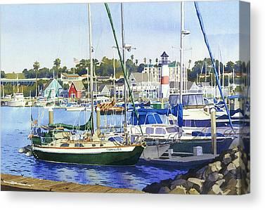 Fishing Shack Canvas Prints
