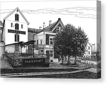 Pakkhuset Canvas Prints