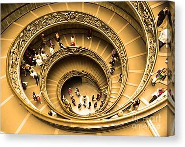 The Vatican Museum Canvas Prints