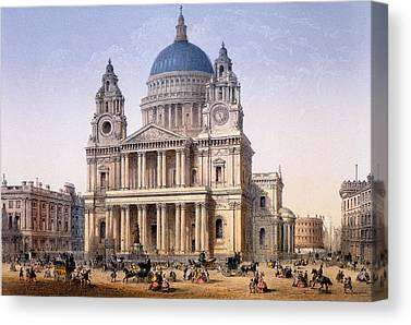 Riviere Drawings Canvas Prints