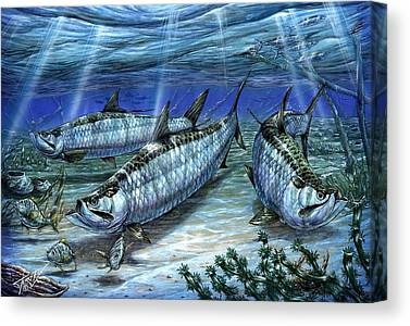 Sabalos Canvas Prints