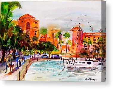 Cruising The Coast Canvas Prints