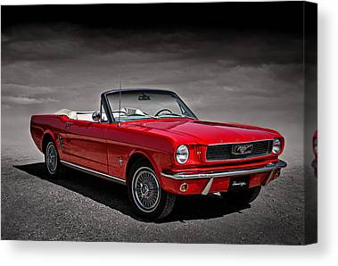 Vintage Ford Mustang Canvas Prints