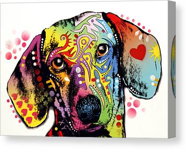 Doxie Canvas Prints