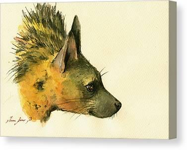 Hyena Canvas Prints