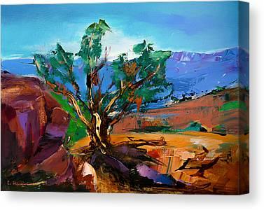 Sedona Red Rock Canvas Prints