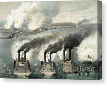 Confederate Hospital Canvas Prints