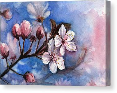 Cherry Art Canvas Prints