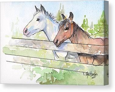 Horse Bridle Canvas Prints