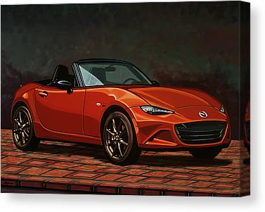 V8 Engine Canvas Prints