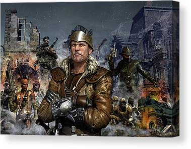 Leader Canvas Prints