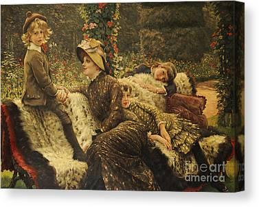 The Garden Bench Canvas Prints