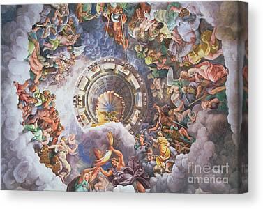 Zeus Paintings Canvas Prints