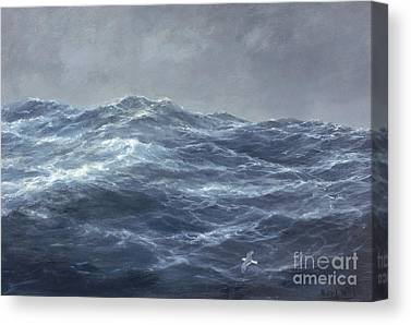 Turbulent Skies Canvas Prints