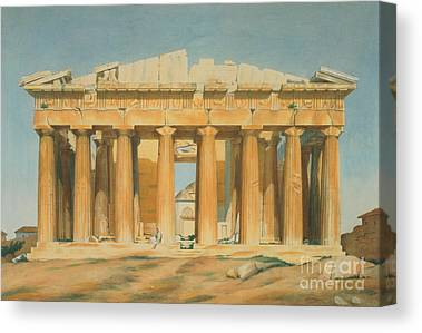 The Parthenon Canvas Prints