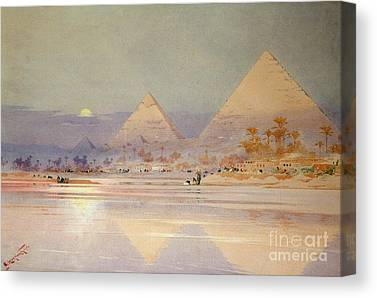 Sahara Desert Canvas Prints