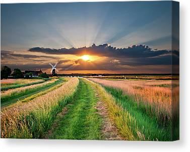 Norfolk Broads Canvas Prints